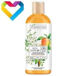 Bielenda Eco Nature MOISTURISING & SOOTHING MICELLAR WATER Dehydrated Skin 500ml