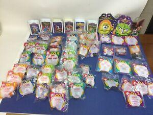 58 McDonald's Happy Meal Toys 95 Babe Barbie Marvel Disney Eric Carle Halloween