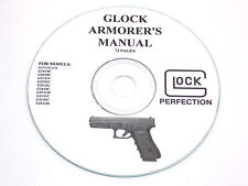 Glock Armorers Manual For Models G17 Through G36 -See Description -Free Shipping