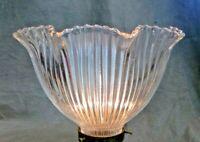 "Holophane Design Shade 8"" X 2 1/4"" Glass Globe Fan Fixture"