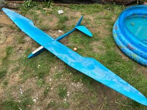 Rc glider bird of time 3 channel Balsa built used