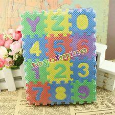 36PCS Baby juguete de niño infantil educación bloques alfanuméricos de regalo