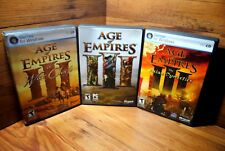 Age of Empires III PC Game Bundle - 2 Expansions - Asian Dynasties - War Chiefs