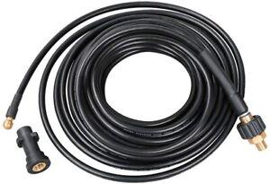 Rohrreinigungsschlauch 10m 180bar,60°C,Rohrreinigungsset,Bajonett,Rohrreiniger