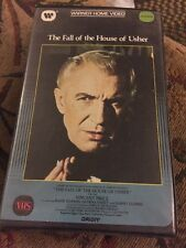 The Fall of the House of Usher (VHS) * Warner Clamshell * Vincent Price *
