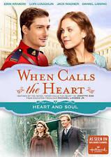 New: WHEN CALLS THE HEART - Heart & Soul (Hallmark) DVD