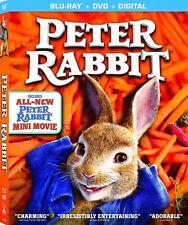 Peter Rabbit 2018 PG Family Animated Fantasy Movie Blu-ray DVD Digital