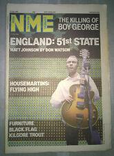 NME 12th July 1986 The The Boy George Housemartins Black Flag