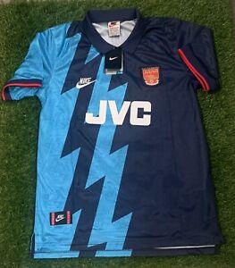 Retro Arsenal Away 95-96 Berkgamp Shirt