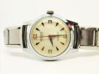 Vintage Rodania Men's Manual 17 Jewels Swiss Incabloc Watch Lubricated Runs
