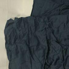 SPAY linen Luxury Bed Skirt- Premium Queen Size 21 Inch Drop Navy with 100% Cott