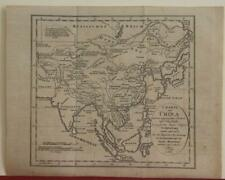 CHINA KOREA JAPAN ASIAN CONTINENT 1812 MACARTNEY RARE ANTIQUE MAP CZECH EDITION