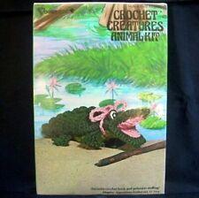 Alligator Crochet Kit Vtg Yarn Creatures 3103 Vogart Crafts Toy Animal Reptile