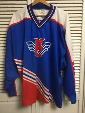 Vtg Krylya Sovetov Moscow Soviet Wings KC Russia Hockey Jersey #12 Men's XL-2XL