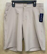 New listing Izod Boys Shorts Size 18 Reg Flat Front Tan Khaki Beige Nwt New School Uniform