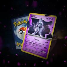 MEWTWO WITH ARMOUR CARD! RARE!