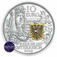 10 euros AUTRICHE 2019 - Chevalier, Récits de la Chevalerie - Argent 925‰ - BE
