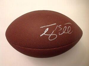 Tim Tebow Signed Official Size Wilson NFL Football Beckett BAS COA Heisman a
