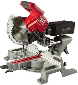 MILWAUKEE M18 Fuel 7-1/4 in. Dual Bevel Sliding Compound Miter Saw Kit TOOL ONLY