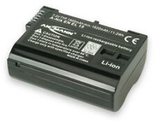 ANSMANN Li-ion Nikon En El 15 Equivalent Replacement Battery