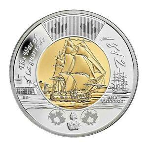 🇨🇦 Canada Toonie 2 Dollars $2 Special Coin War 1812 HMS Battle Shannon, 2012