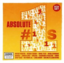 ABSOLUTE #1s VARIOUS ARTISTS 5 CD NEW