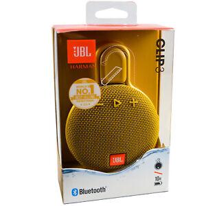 JBL Clip 3 Wireless Portable Genuine Bluetooth Waterproof Speaker RRP £59.99