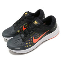 Nike Air Zoom Structure 23 Anthracite Bright Mango Black Men Running CZ6720-006