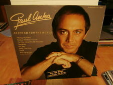 "paul anka""freedom for the world""lp 12"".or.ger.1987.dino:lp1581.mint"