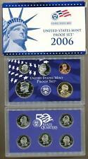 2006 ORIGINAL US MINT PROOF SET BOX & CARD GREAT BIRTH YEAR GIFTS!