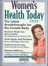 Women's Health Today 2000 The Lastest Breakthroughs for the Female Body New