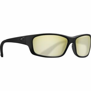 COSTA JOSE Sunglasses Yellow/Sunrise Silver Mirror 580 GLASS, Blackout.