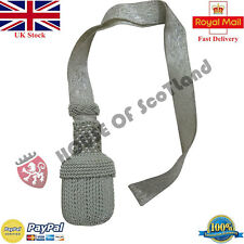 NEW GERMAN OFFICER SWORD KNOT SILVER/ARMY SWORD KNOT/SWORD KNOT