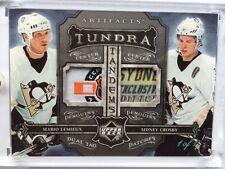 2006-07 UD ARTIFACTS TUNDRA MARIO LEMIEUX/SIDNEY CROSBY DUAL TAG PATCHES 1/1