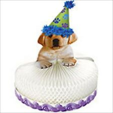 PUPPY PARTY STAND UP HONEYCOMB CENTERPIECE ~ Birthday Supplies Decorations