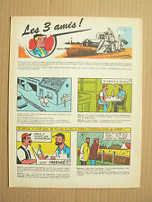 Prospectus MASSEY FERGUSON BD Les 3 Amis Tracteur  1959  MF catalogue  brochure