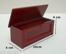 grand coffre à linge miniature,maison de poupée,vitrine,meuble de rangement *M2