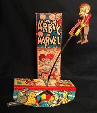 VINTAGE MARX ACROBATIC MARVEL CIRCUS WIND UP BEAUTIFUL WITH RARE ORIGINAL BOX!