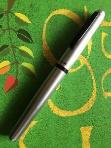 Tombo Silver Rollerball Pen Metal