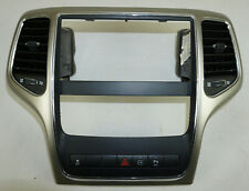 2011-2013 Jeep Grand Cherokee Center Dash Radio Climate Bezel with Park Assist