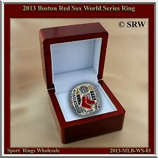 2013 Boston Red Sox MLB World Series Championship Ring Box & Pouch S-12.5