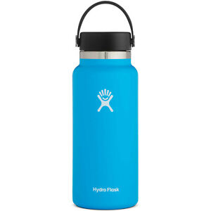 Hydro Flask 40oz / 1,18l  Wide Mouth Wanderflasche Pacific Blau Isolierflasche