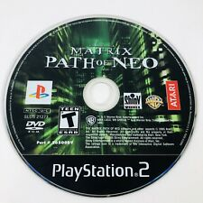 The Matrix: Path of Neo Playstation 2 PS2 Disc Only Tested Working Free Shipping