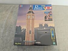 Puzz 3D Big Ben Foam Backed Puzzle By Hasbro 385 Pieces Factory Sealed New 2000