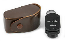 (219) Minolta 90° angle finder w/thread, diopter correction, case, crystal clear