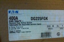 DG225FGK EATON 400A 240V  2POLE NEMA 1, N1 FUSIBLE SAFETY SWITCH