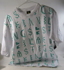 New Last Kings Heirostone/White /Green Tee Size Large *