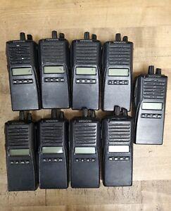 Kenwood TK 380 UHF Portable Radio Lot of 9 radios