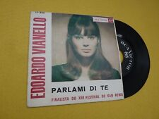 "Edoardo Vianello Parlami di te San Remo XVI (VG++/EX-)Portugal edit single 7"" ç"