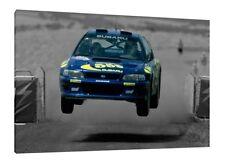 30x20 Inch Canvas -  Colin McRae WRC Rally Subaru Impreza Framed Picture Poster